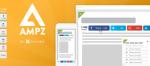 AMPZ Extended v4.0.3 - Social Sharing Plugin