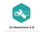 DJ-MediaTools v2.16.4 - gallery for Joomla 3