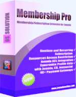 Membership Pro v2.20.1 -  Joomla membership subscription