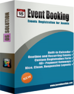 Events Booking v3.10.1 - Joomla Events Registration