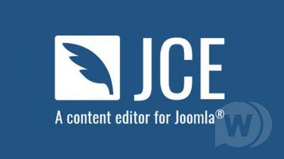 JCE Pro Content Editor v2.8.9 - visual editor for Joomla